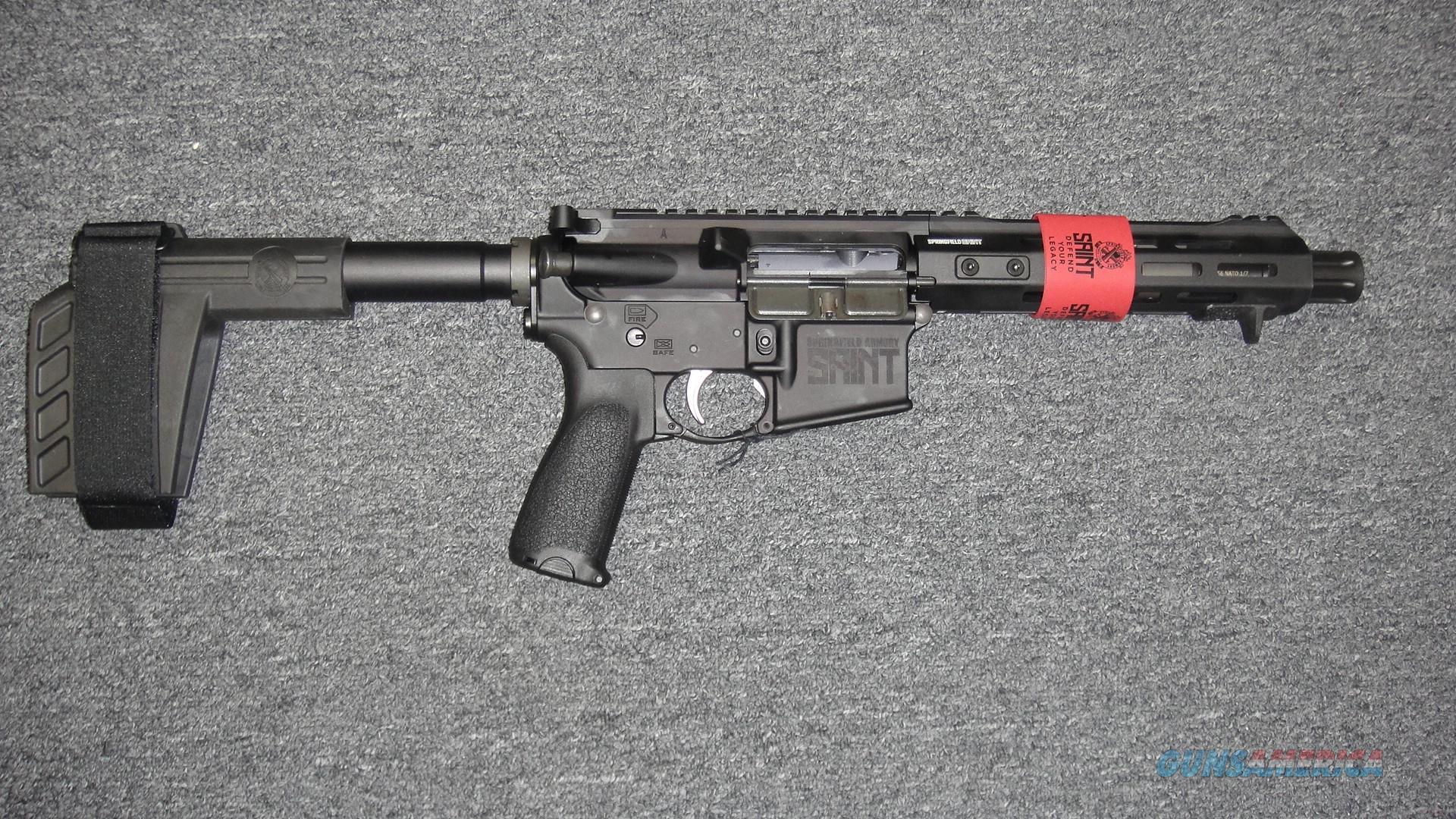 Springfield Armory SAINT W/ Arm Brace  Guns > Rifles > Springfield Armory Rifles > SAINT