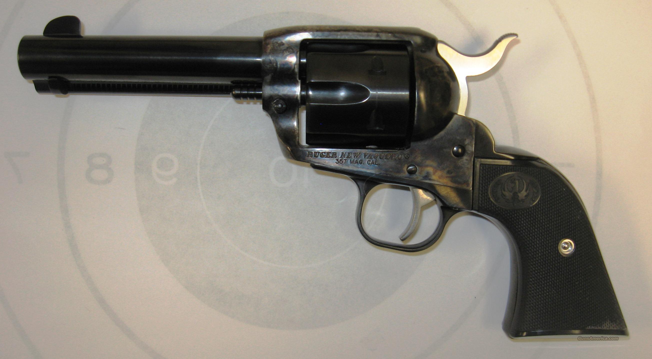 "Ruger New Vaquero ""Factory Fired"" AS-NEW  Guns > Pistols > Ruger Single Action Revolvers > Cowboy Action"