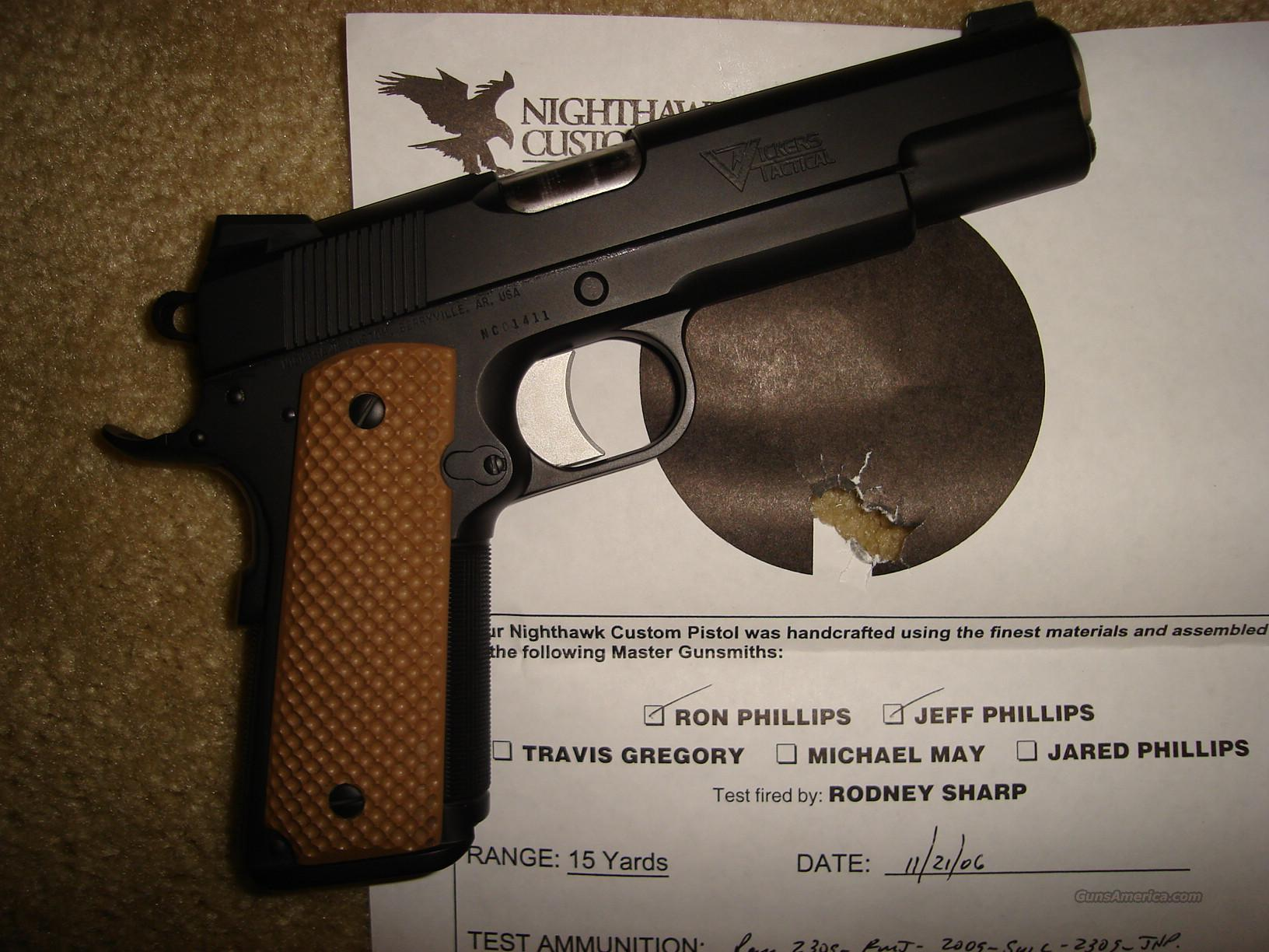 Nighthawk Vickers Tactical 1911  Guns > Pistols > 1911 Pistol Copies (non-Colt)