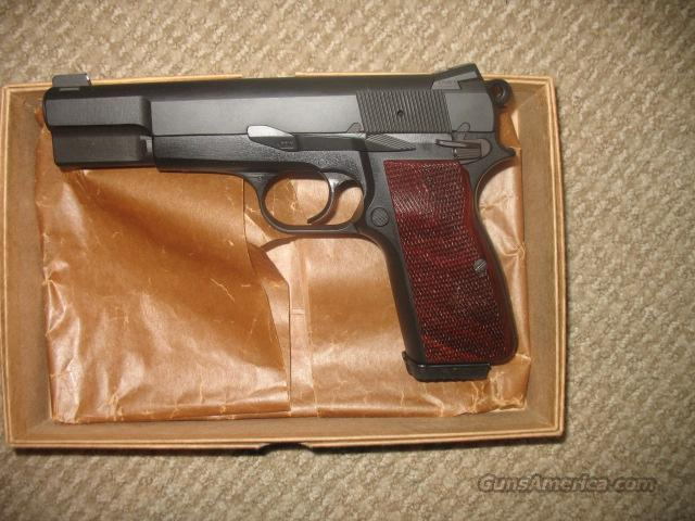 Browning Hi-Power 9mm, Alloy Frame, Cylinder and Slide  Guns > Pistols > Browning Pistols > Hi Power