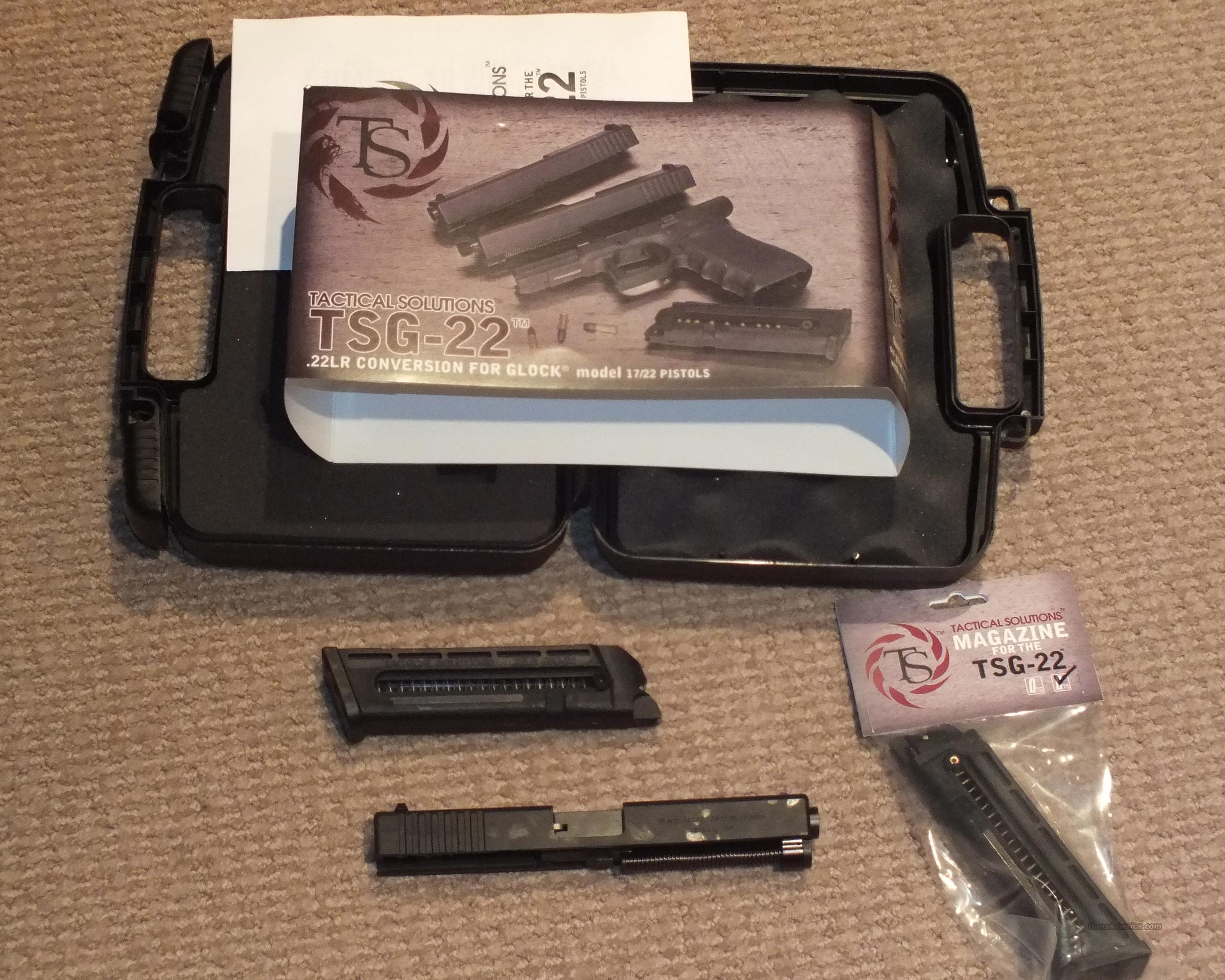 Tactical Solutions TSG-22 Glock Conversion .22 Kit  Non-Guns > Barrels