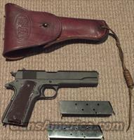 Remington Rand 1911A1  WWII .45 ACP.  Guns > Pistols > Remington Pistols - Modern