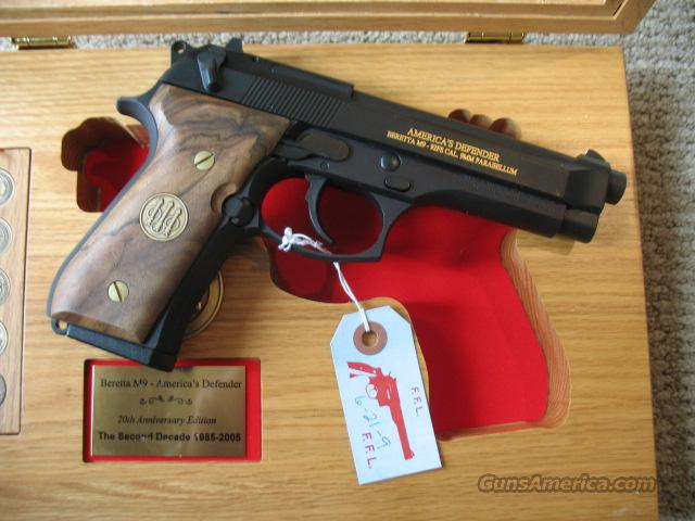 Beretta M9  20th Anniv. Issue,  Two- w/ Cons. Serial #'s  Guns > Pistols > Beretta Pistols > Model 92 Series