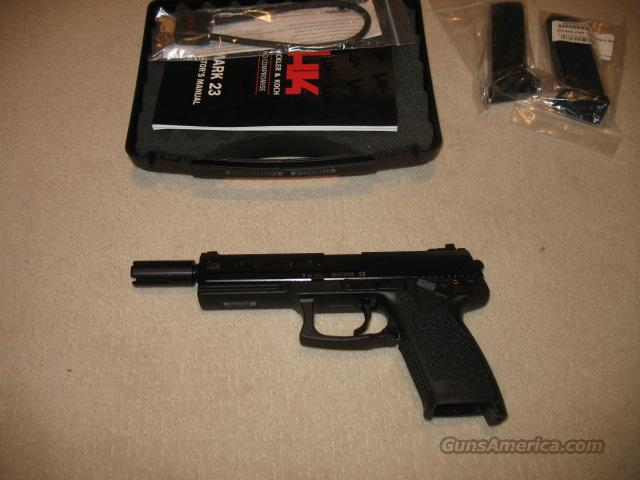 Heckler and Koch Mark 23 .45 ACP  Guns > Pistols > Heckler & Koch Pistols > Polymer Frame