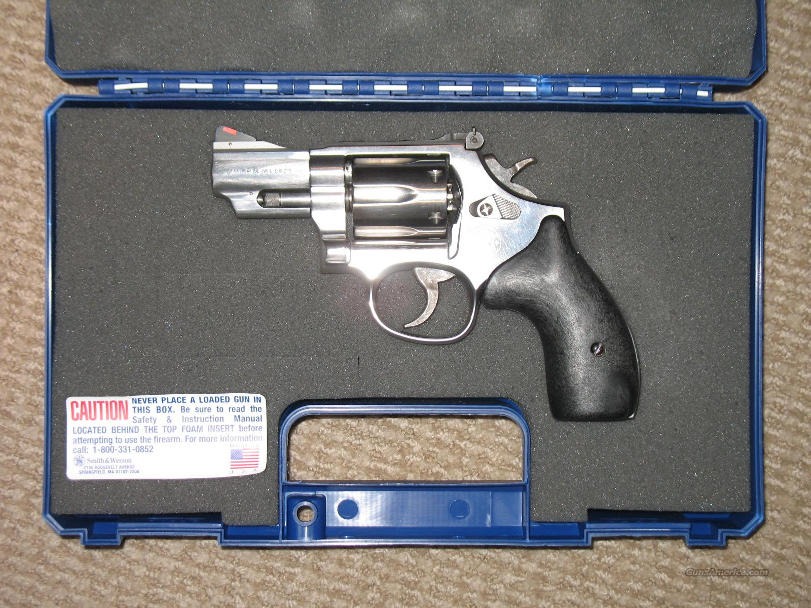 "Smith & Wesson Model 66-5 .357 Mag 2 1/2"" Bbl Stainless  Guns > Pistols > Smith & Wesson Revolvers > Full Frame Revolver"