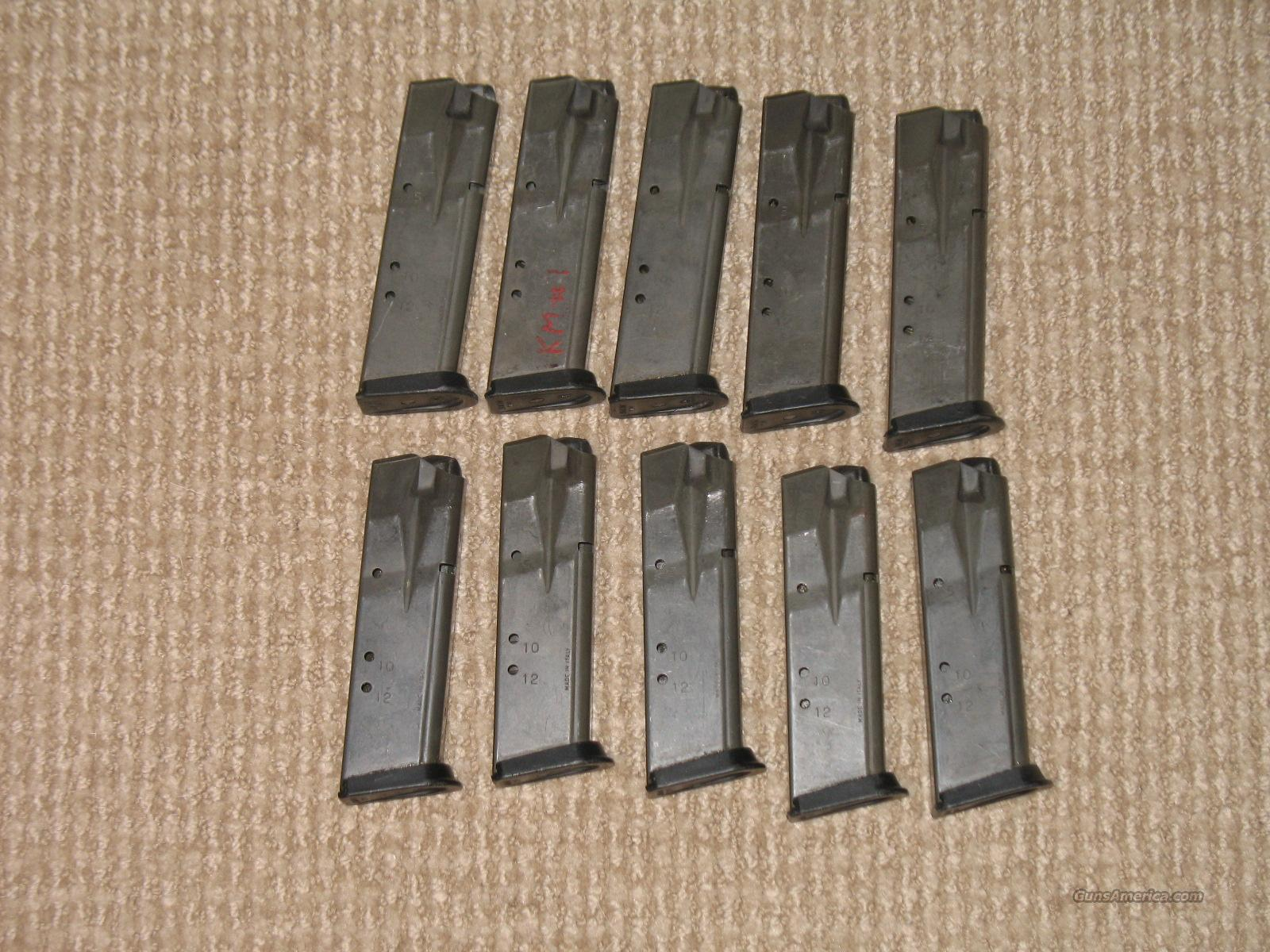 Sig P229, 12 rd. 40 S&W mags. Used  Non-Guns > Magazines & Clips > Pistol Magazines > Sig