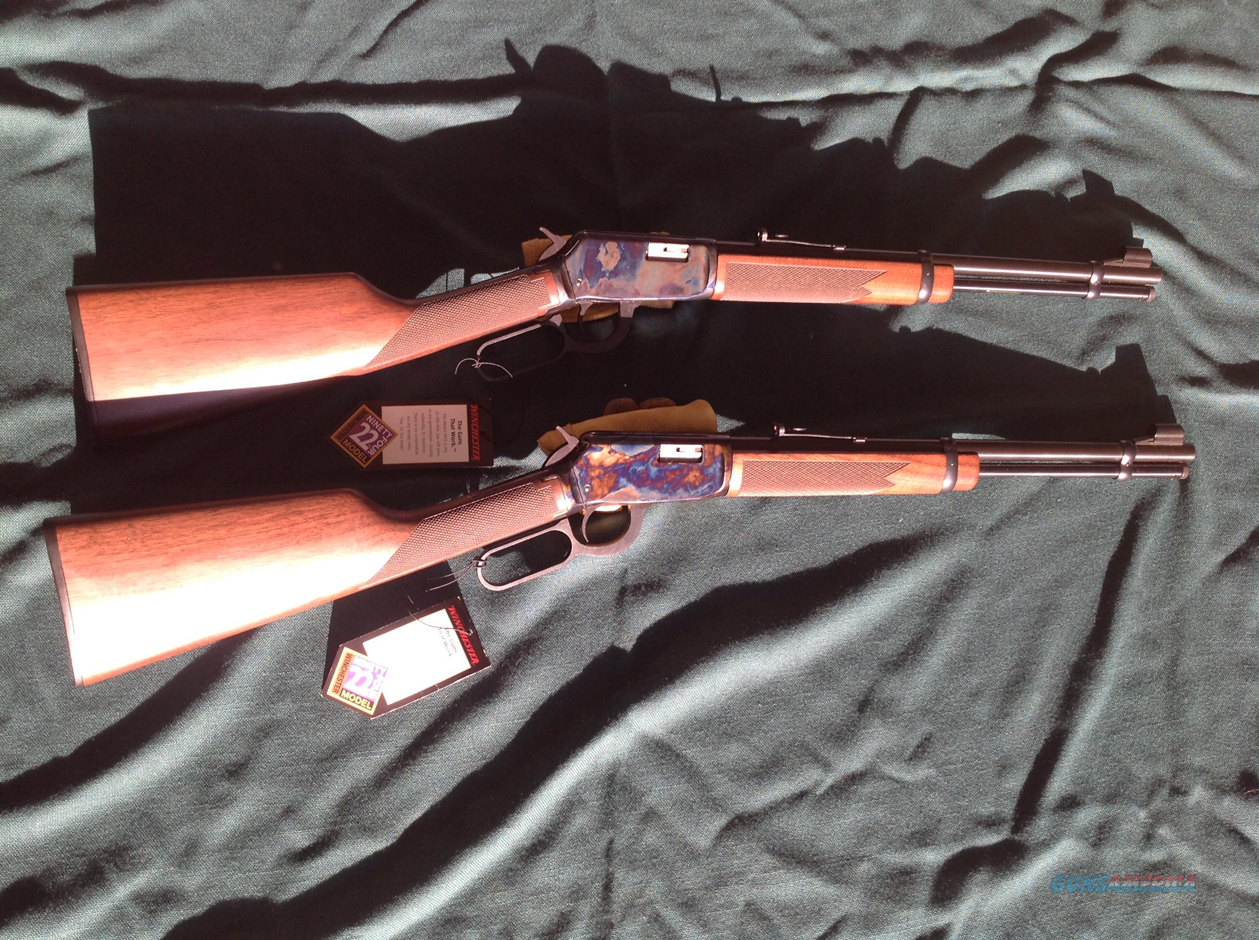 9422 Case Color Pair  Guns > Rifles > Winchester Rifles - Modern Lever > Model 94 > Post-64