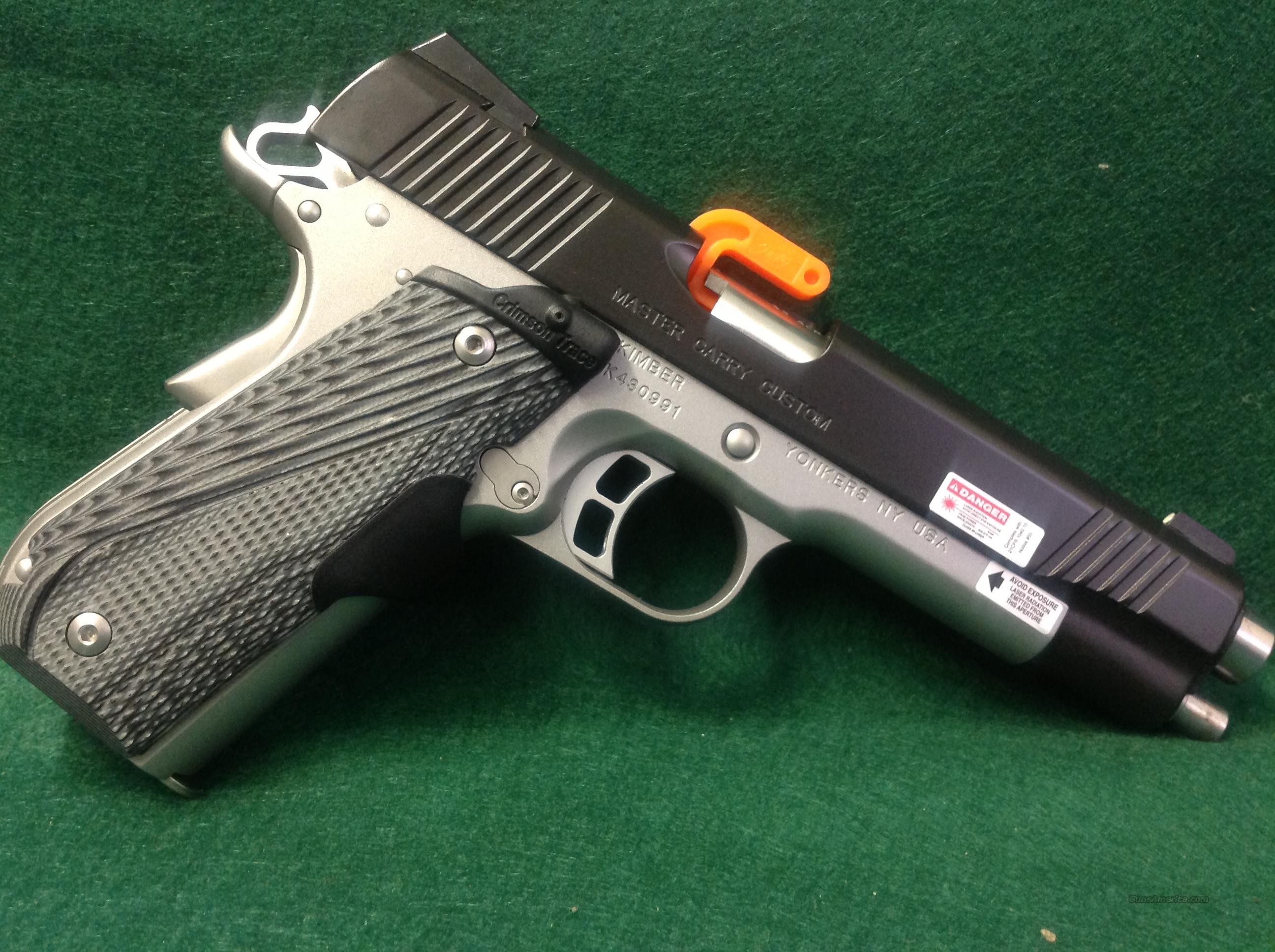 Kimber Master Carry Custom  Guns > Pistols > Kimber of America Pistols