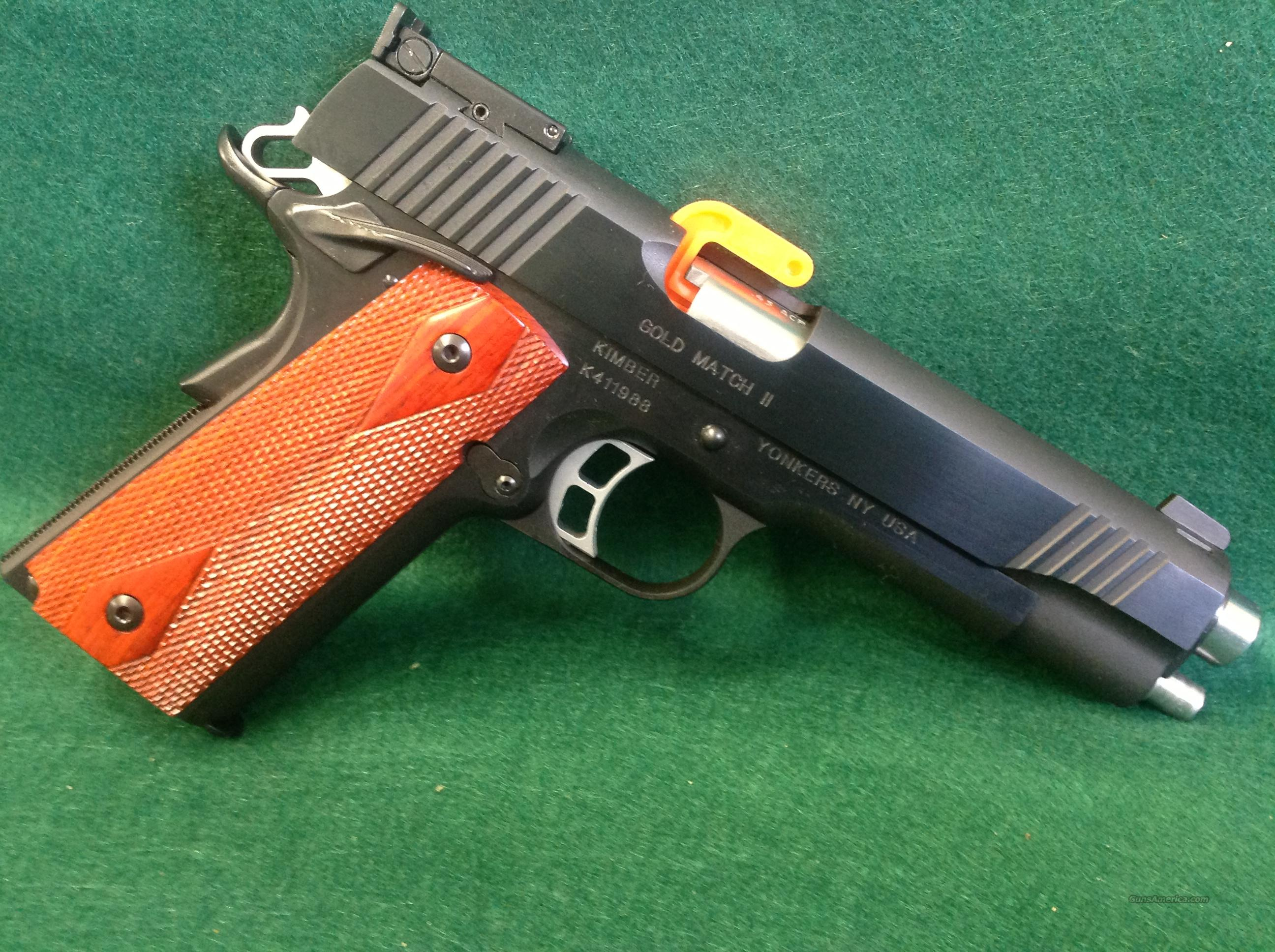 Kimber Gold Match II  Guns > Pistols > Kimber of America Pistols