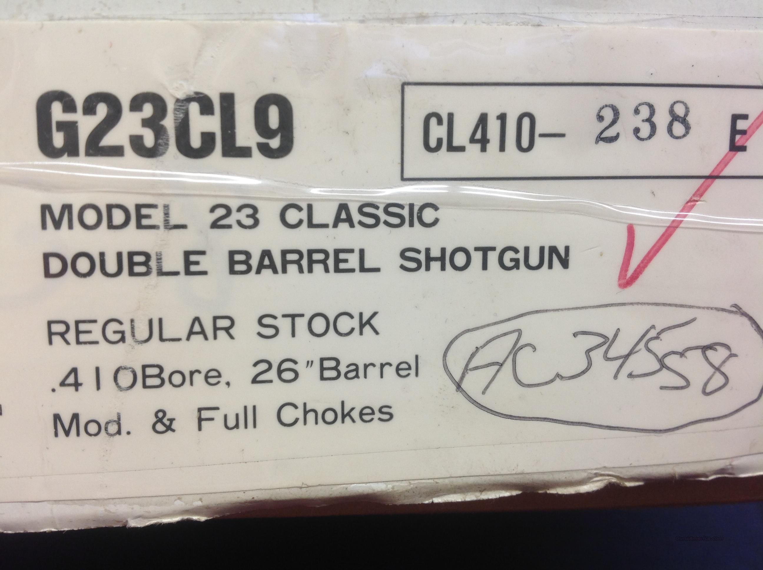 Winchester Model 23  Guns > Shotguns > Winchester Shotguns - Modern > SxS
