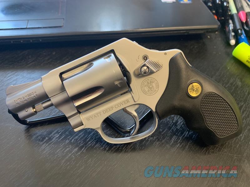 Smith & Wesson Model 637 Performance Center Wyatt Deep Cover  Guns > Pistols > Smith & Wesson Revolvers > Small Frame ( J )