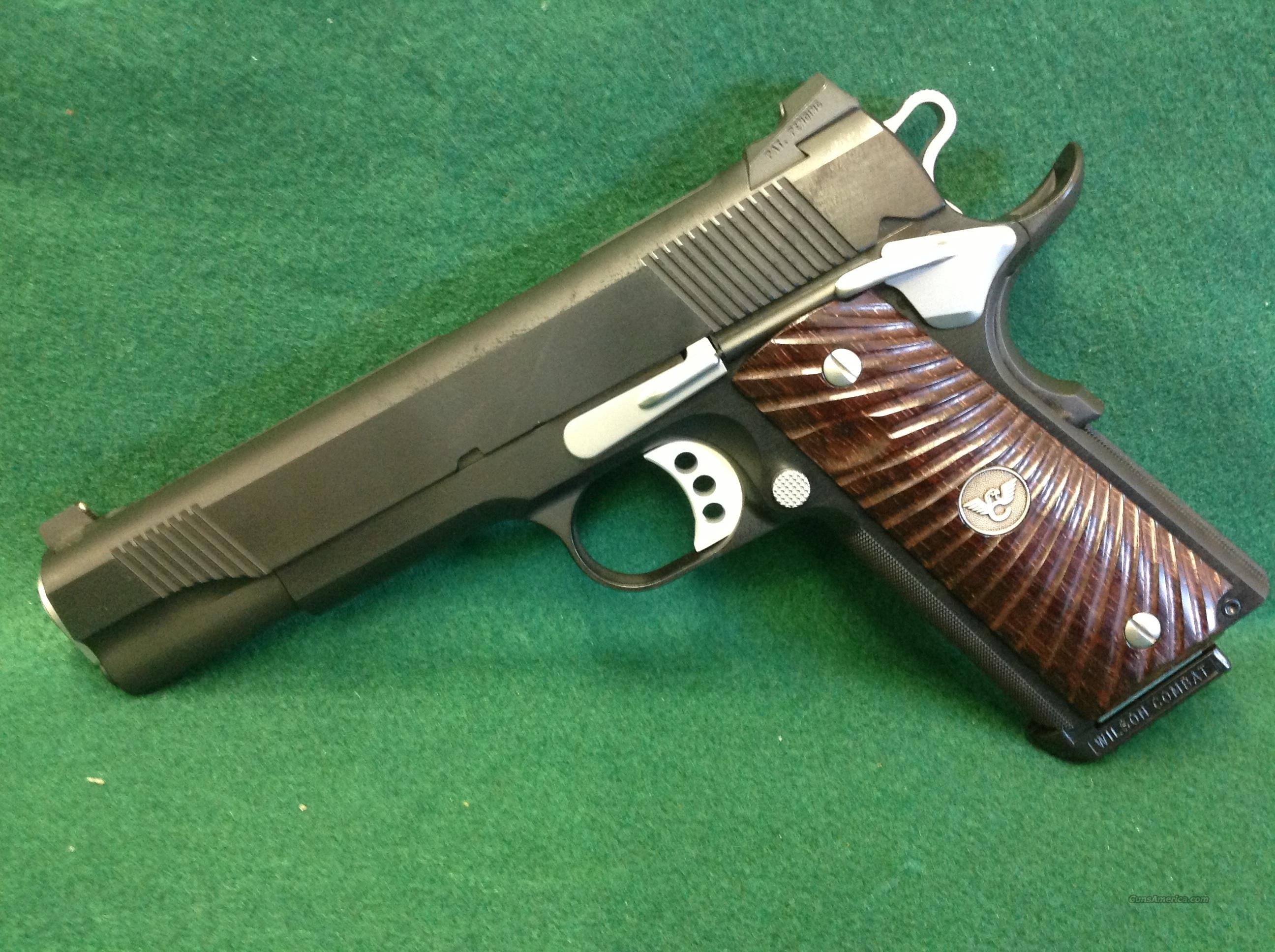 Wilson Combat CQB W/No Slide Markings  Guns > Pistols > Wilson Combat Pistols