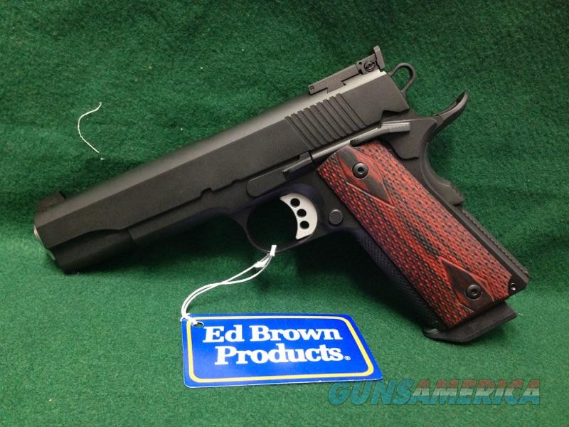 Ed Brown Special Forces 3 w/ Target Sights 38 Super   Guns > Pistols > Ed Brown Pistols