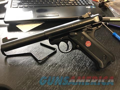Ruger MK IV Bull Barrel  Guns > Pistols > Ruger Semi-Auto Pistols > Mark I/II/III/IV Family