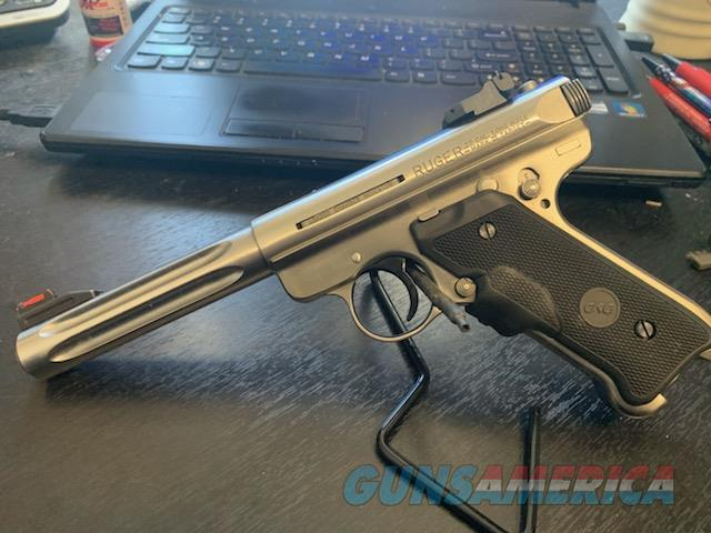Ruger MKIII Hunter with Laser Grips  Guns > Pistols > Ruger Semi-Auto Pistols > Mark I/II/III/IV Family