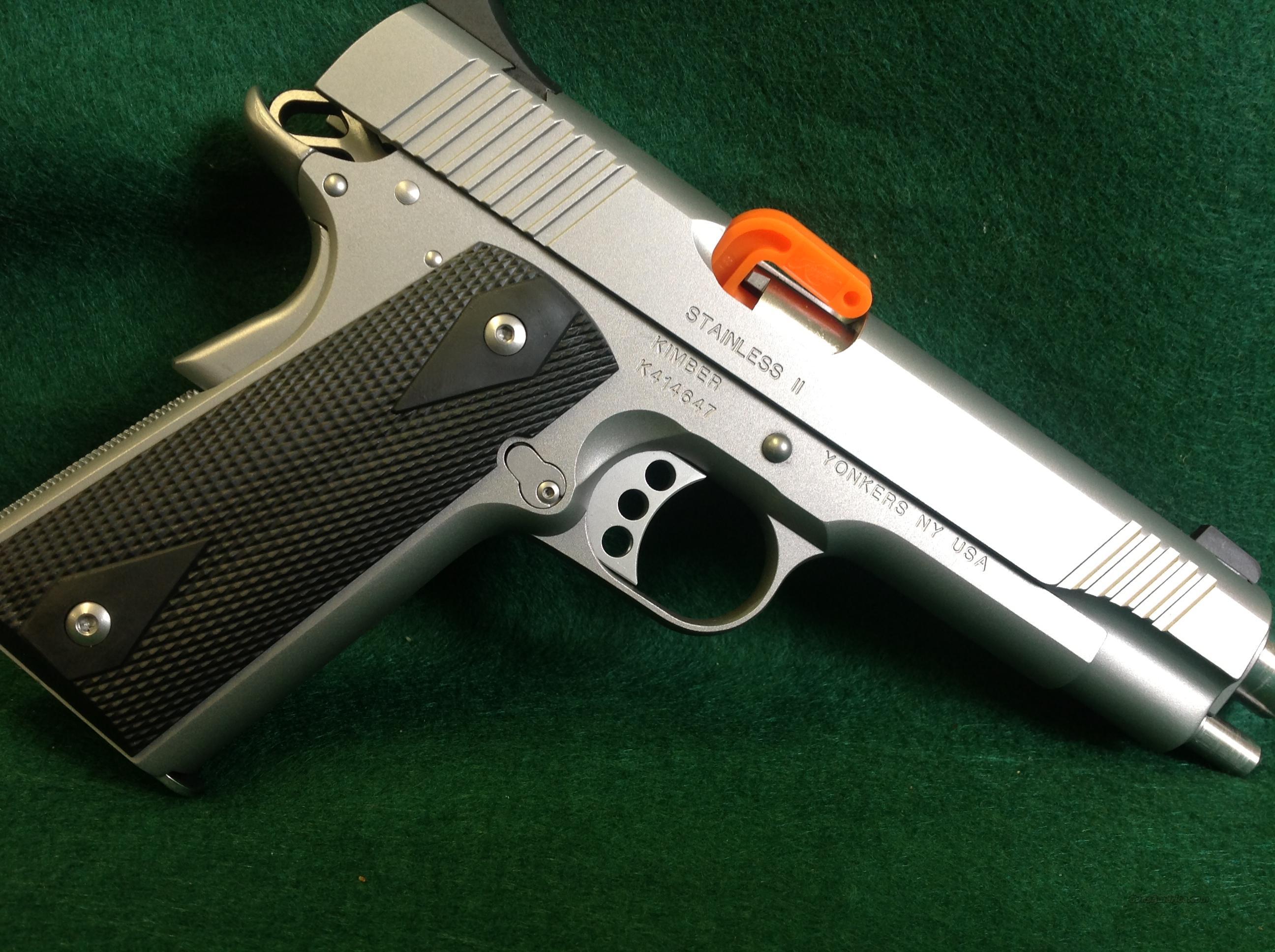 Kimber Stainless II  Guns > Pistols > Kimber of America Pistols