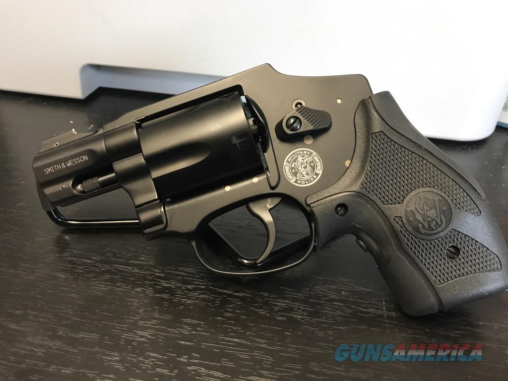 Smith & Wesson M&P 340 w/ Lasergrip  Guns > Pistols > Smith & Wesson Revolvers > Full Frame Revolver