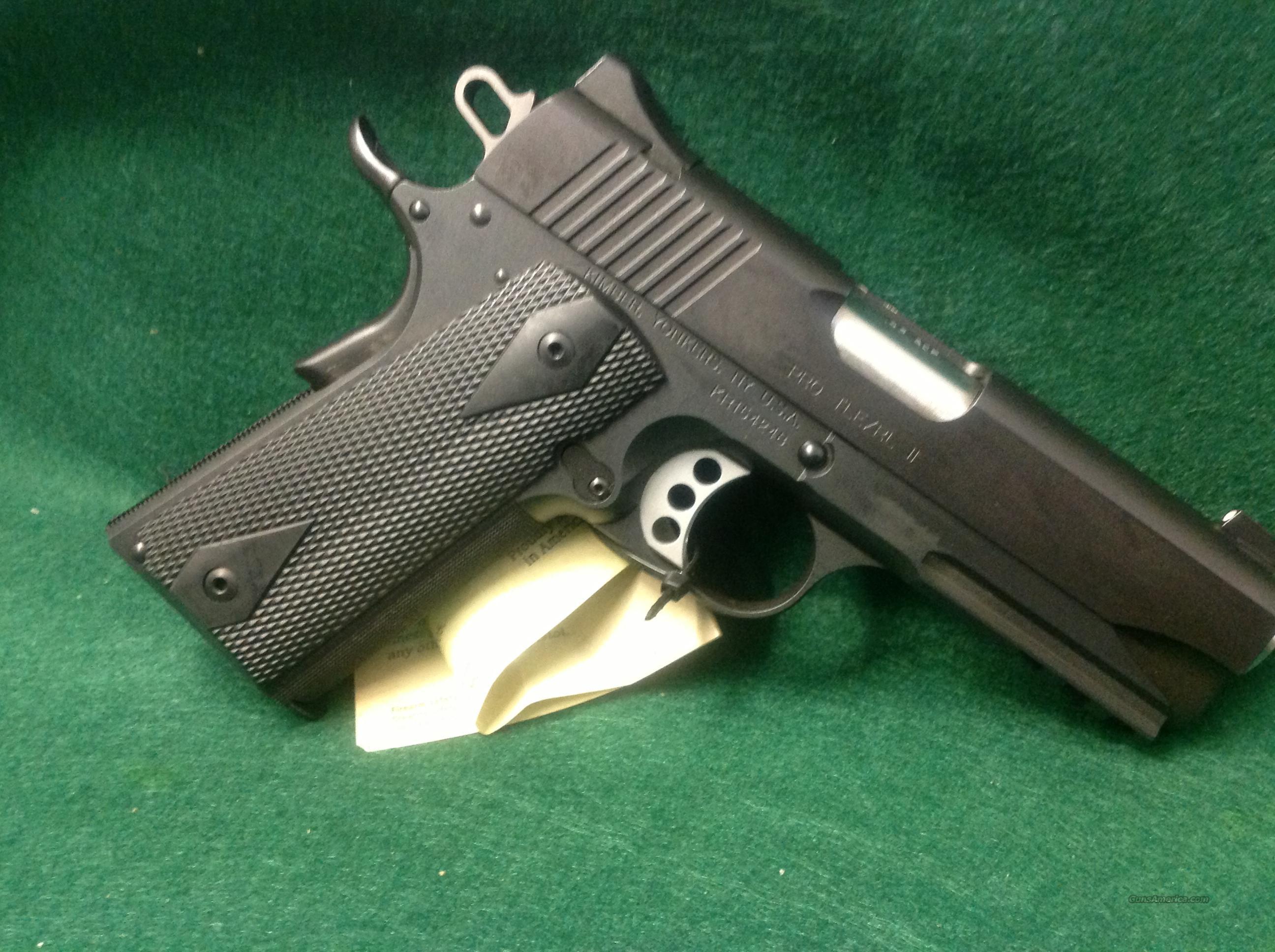 Kimber Pro TLE/RL II  Guns > Pistols > Kimber of America Pistols
