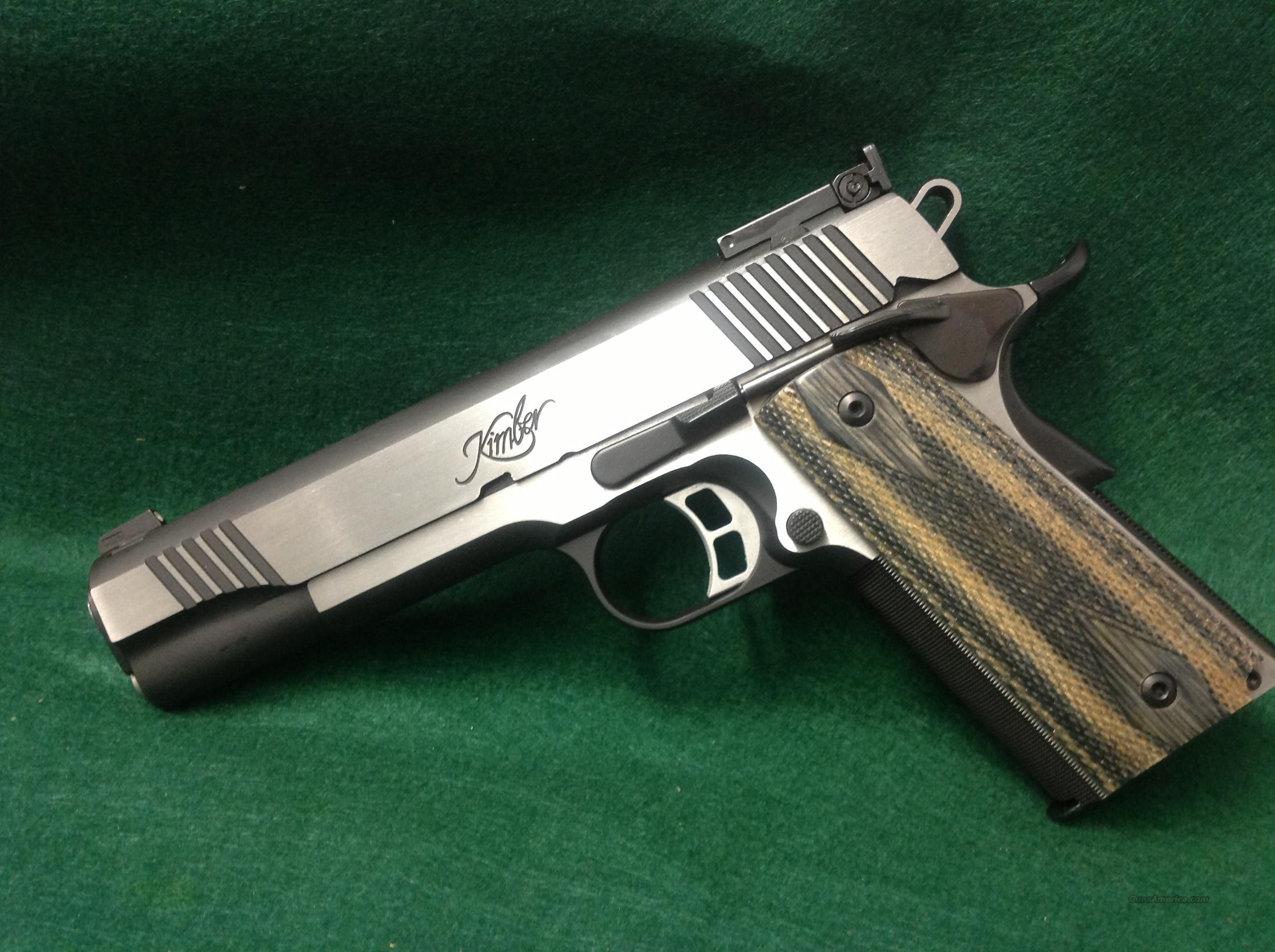 Kimber Eclipse Target II  Guns > Pistols > Kimber of America Pistols