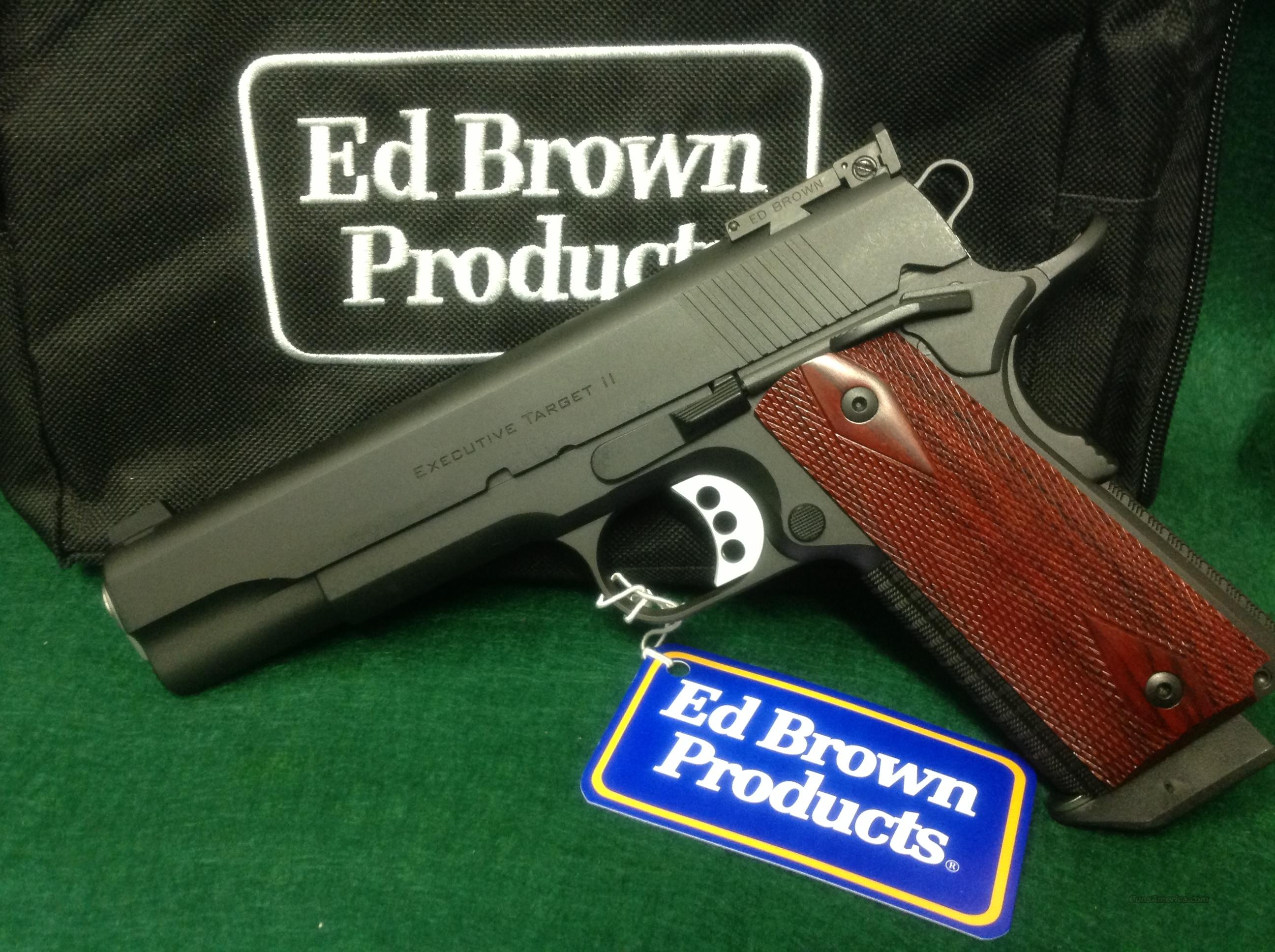 Ed Brown Executive Target II   Guns > Pistols > Ed Brown Pistols
