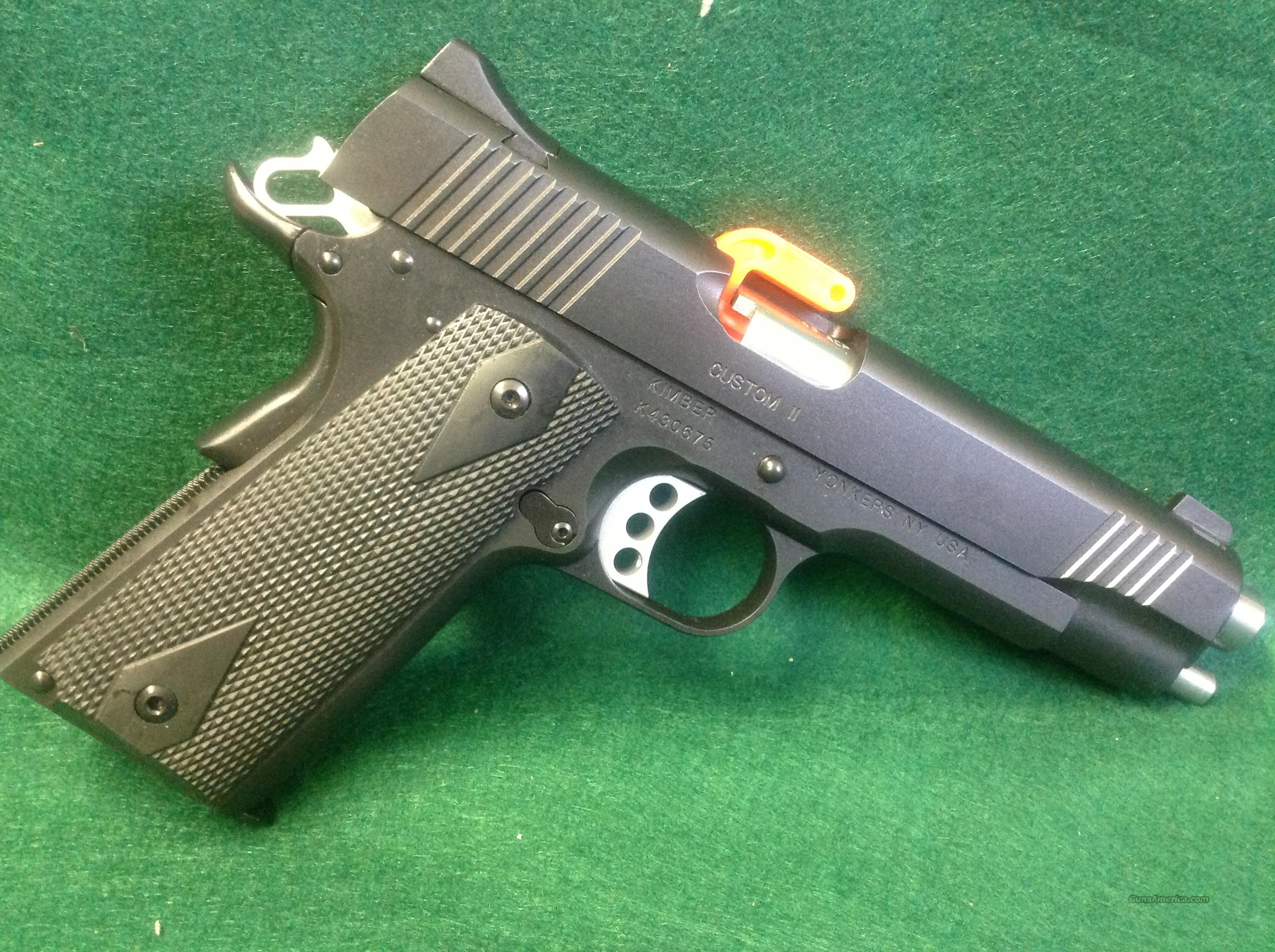 KImber Custom II  Guns > Pistols > Kimber of America Pistols