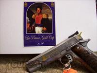 "60328  COLT ""LA PATRIA""  .38 SUPER Nat'l Match  Guns > Pistols > Colt Commemorative Pistols"
