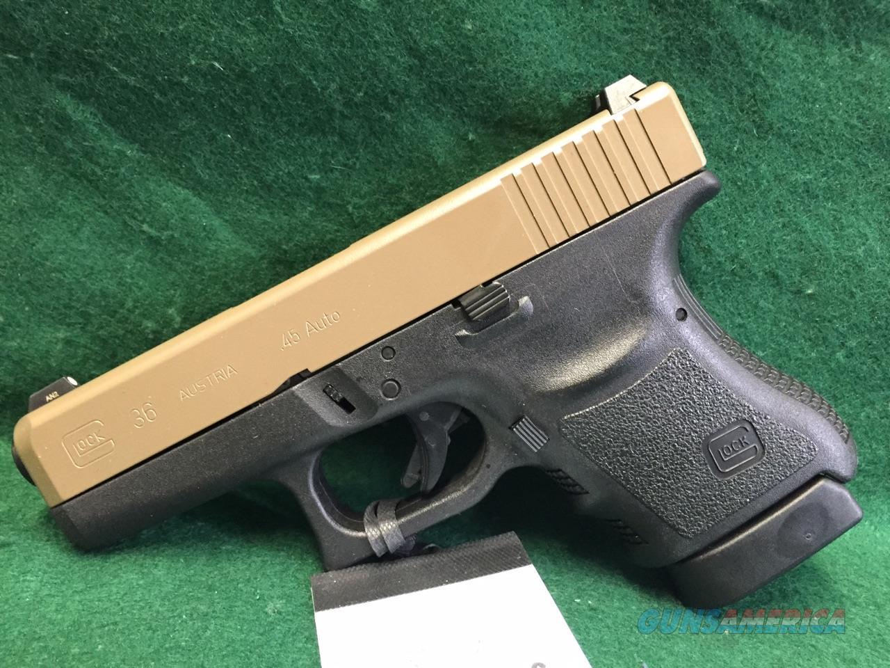 Glock 36 Cerakoted Slide  Guns > Pistols > Glock Pistols > 29/30/36