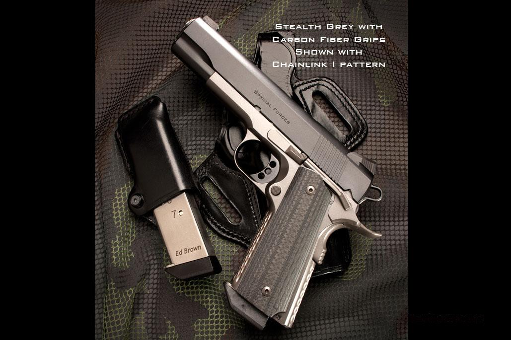 Ed Brown Special Forces Stealth Grey  Guns > Pistols > Ed Brown Pistols