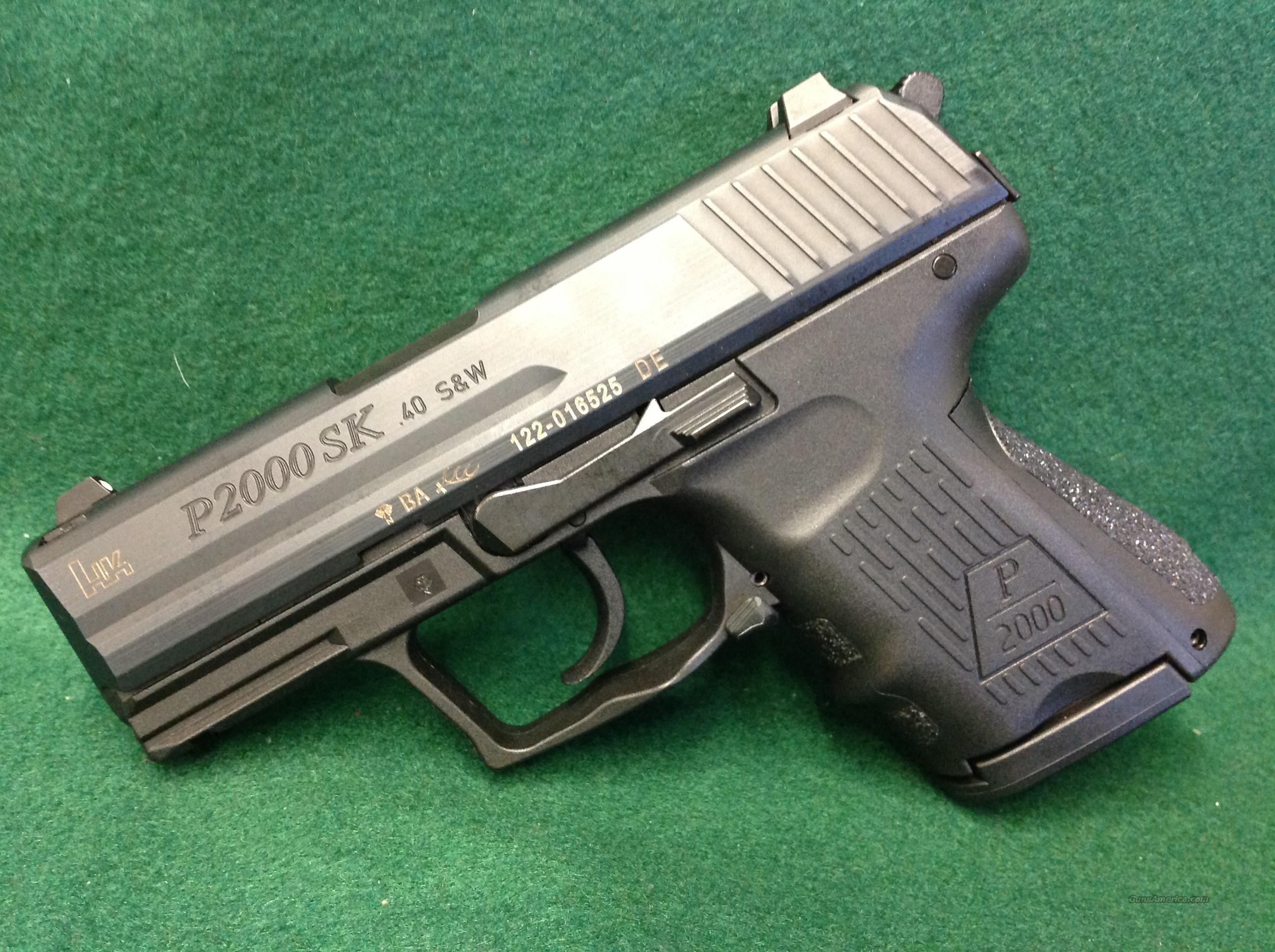 Heckler & Koch P2000SK  Guns > Pistols > Heckler & Koch Pistols > Polymer Frame