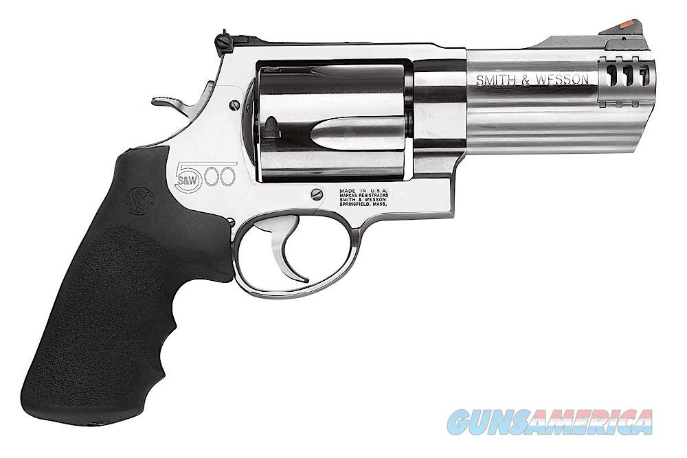 Smith & Wesson Model 500 164504 4inch  Guns > Pistols > Smith & Wesson Revolvers > Full Frame Revolver