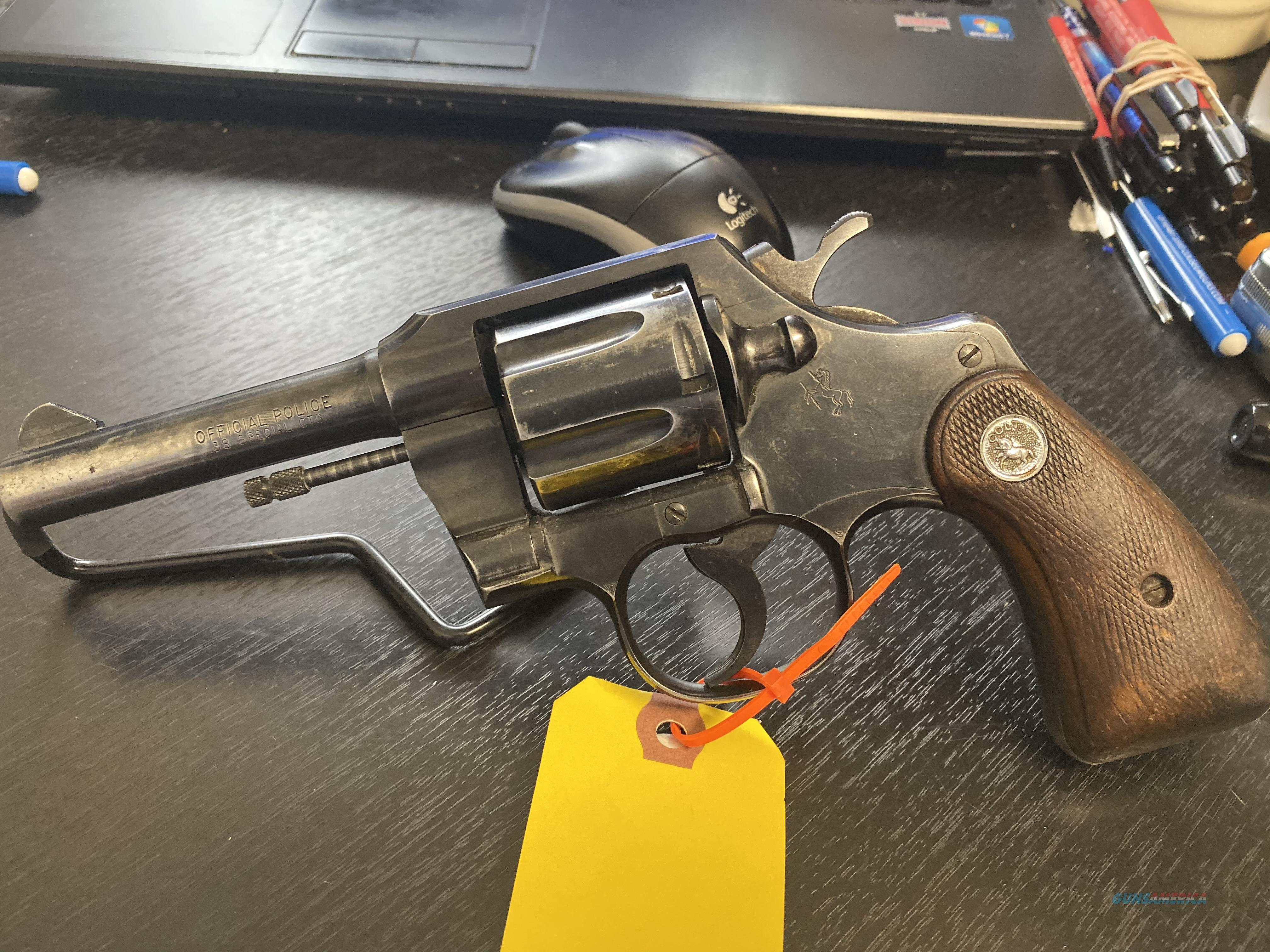 Colt Official Police 1966   Guns > Pistols > Colt Double Action Revolvers- Modern