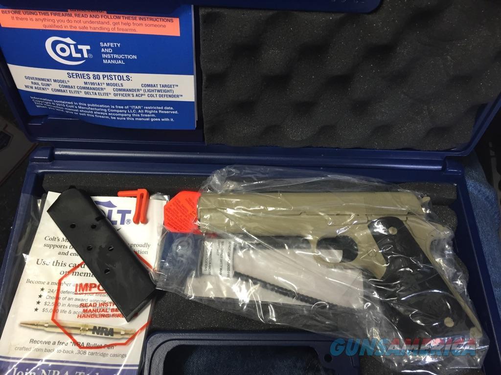 Colt 1911 Custom M1991A1  Tan  Guns > Pistols > Colt Automatic Pistols (1911 & Var)