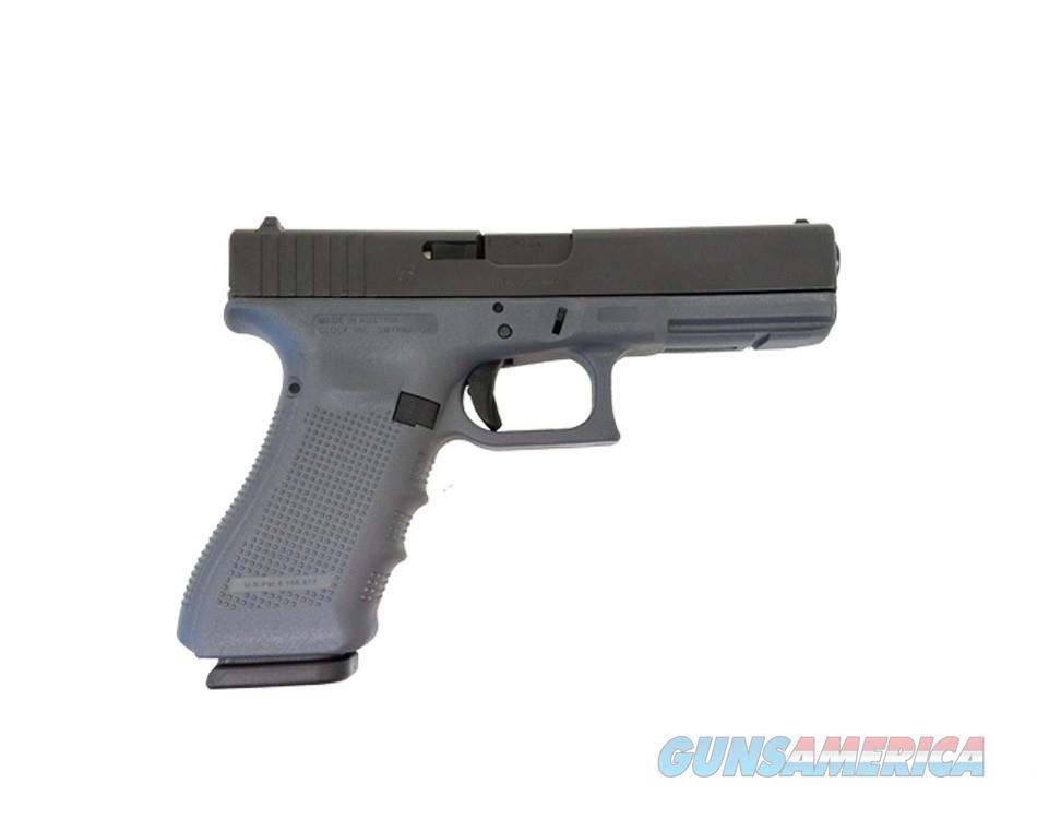 Glock 17 Gen 4 Grey Frame Gray  Guns > Pistols > Glock Pistols > 17