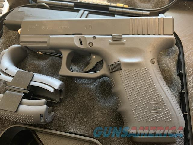 Glock 19 Gen 4 Gray  Guns > Pistols > Glock Pistols > 19/19X