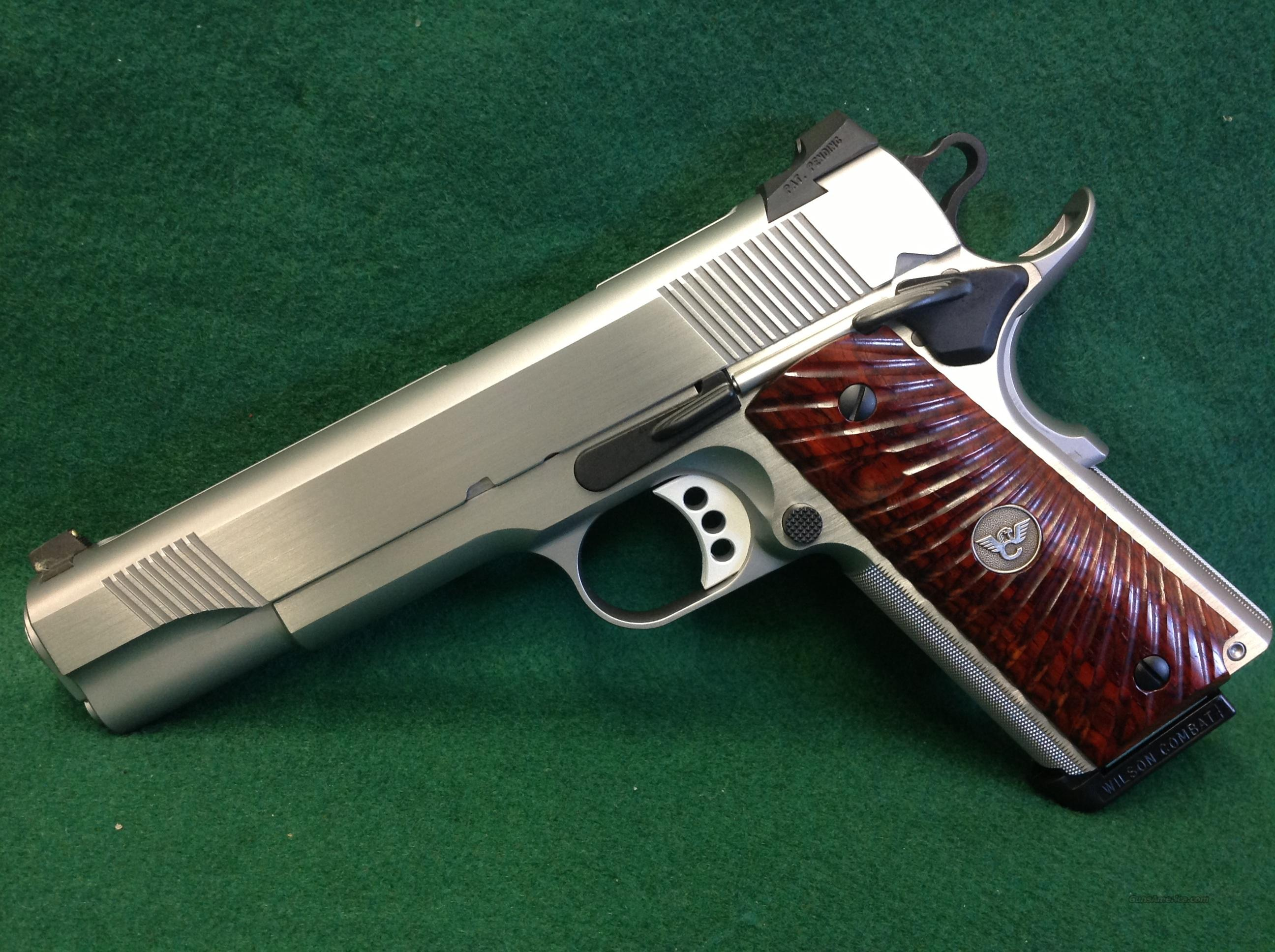 Wilson Combat CQB W/No Slide Markings  Guns > Pistols > Ed Brown Pistols