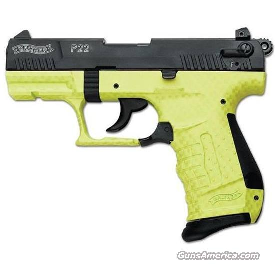 Walther P22Q Lime Green  Guns > Pistols > Walther Pistols > Post WWII > P22