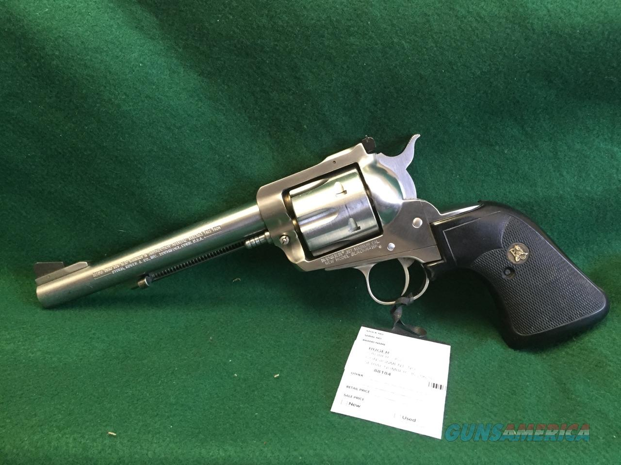 Ruger New Model Blackhawk  Guns > Pistols > Ruger Single Action Revolvers > Blackhawk Type