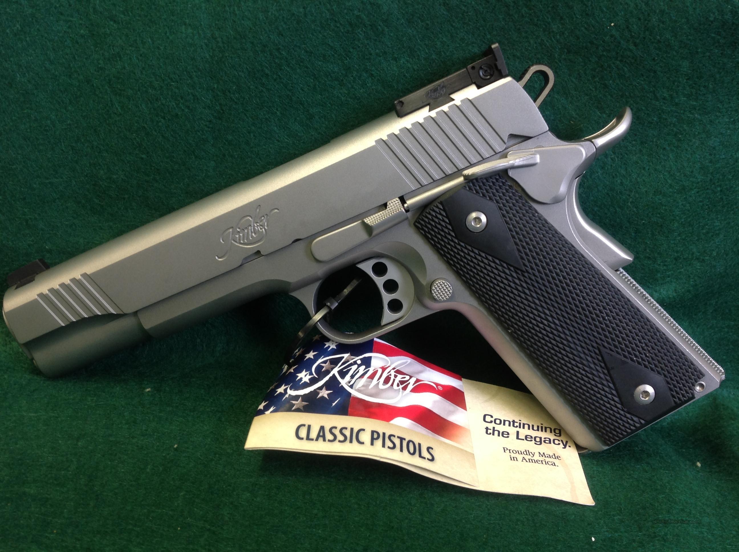 Kimber Stainless Target II 9mm  Guns > Pistols > Kimber of America Pistols