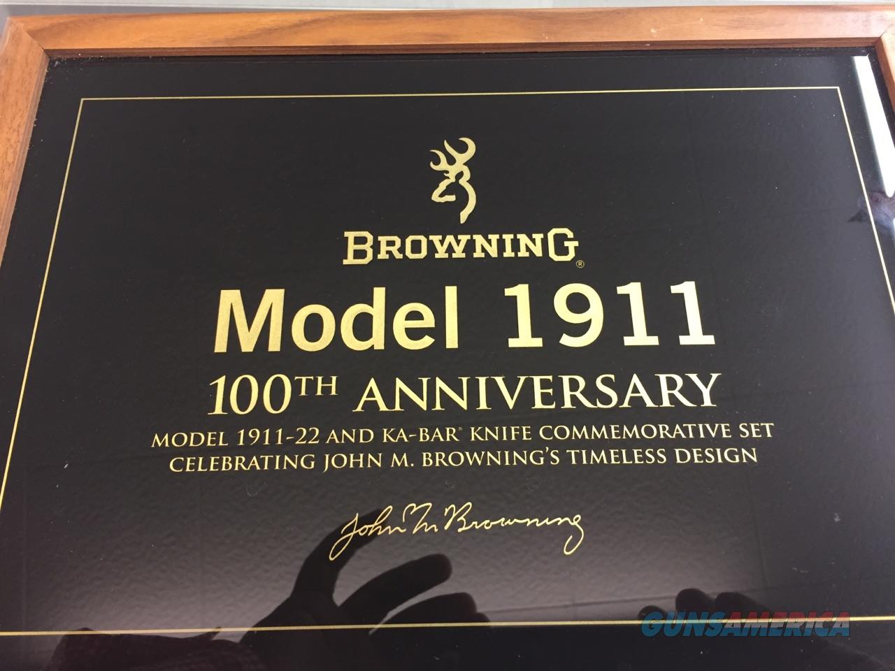 Browning 1911-22 100th Anniversary Commemorative.  Guns > Pistols > Browning Pistols > Other Autos