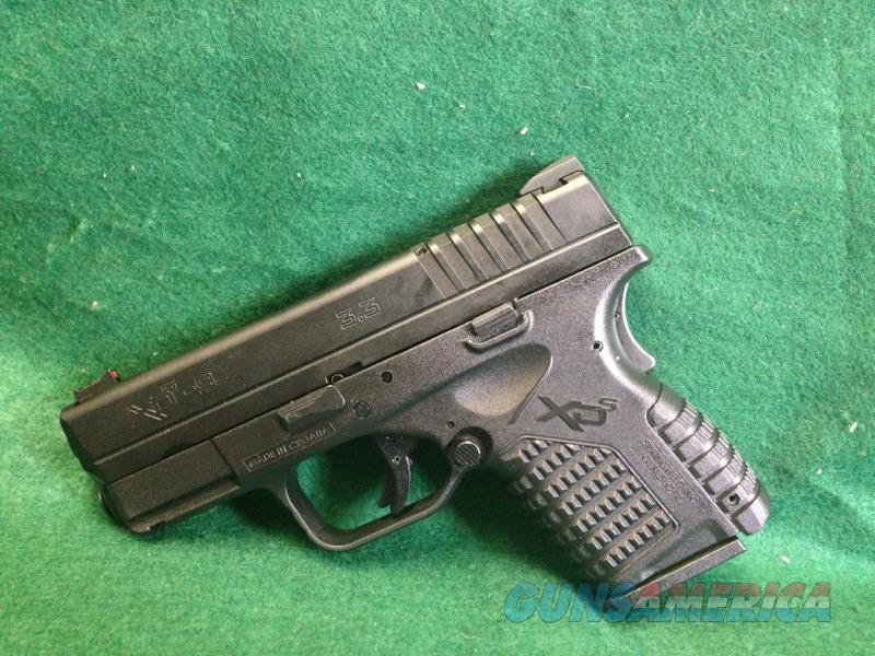 Springfield XD-s 9mm  Guns > Pistols > Springfield Armory Pistols > XD-S