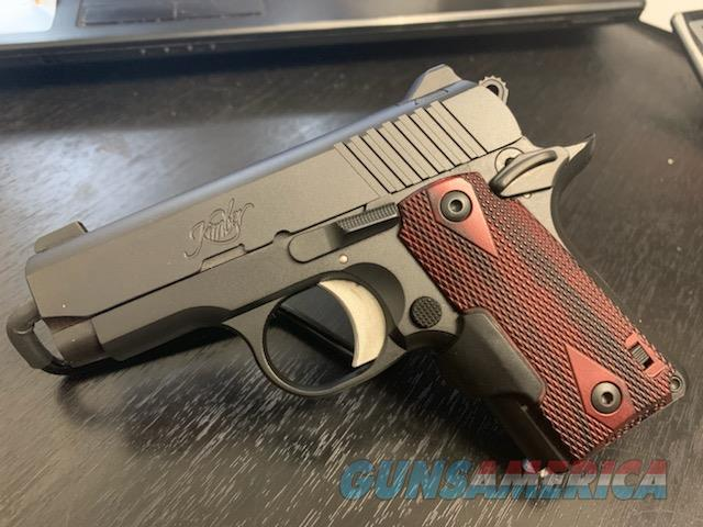 Kimber Micro Carry Two-Tone Rosewood Laser Grips  Guns > Pistols > Kimber of America Pistols > Micro