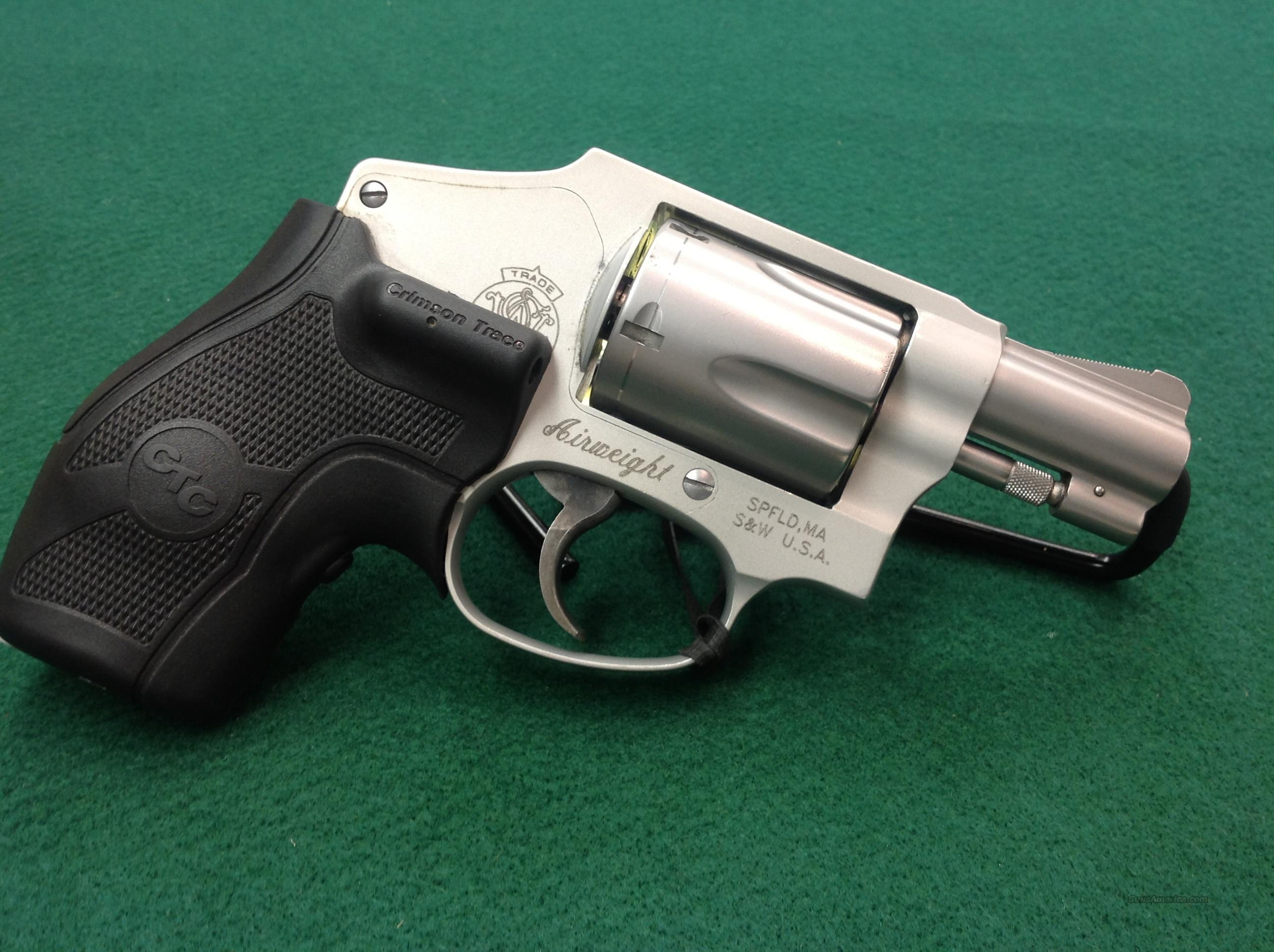 S&W Model 642 W/ Crimson Trace  Guns > Pistols > Smith & Wesson Revolvers > Full Frame Revolver
