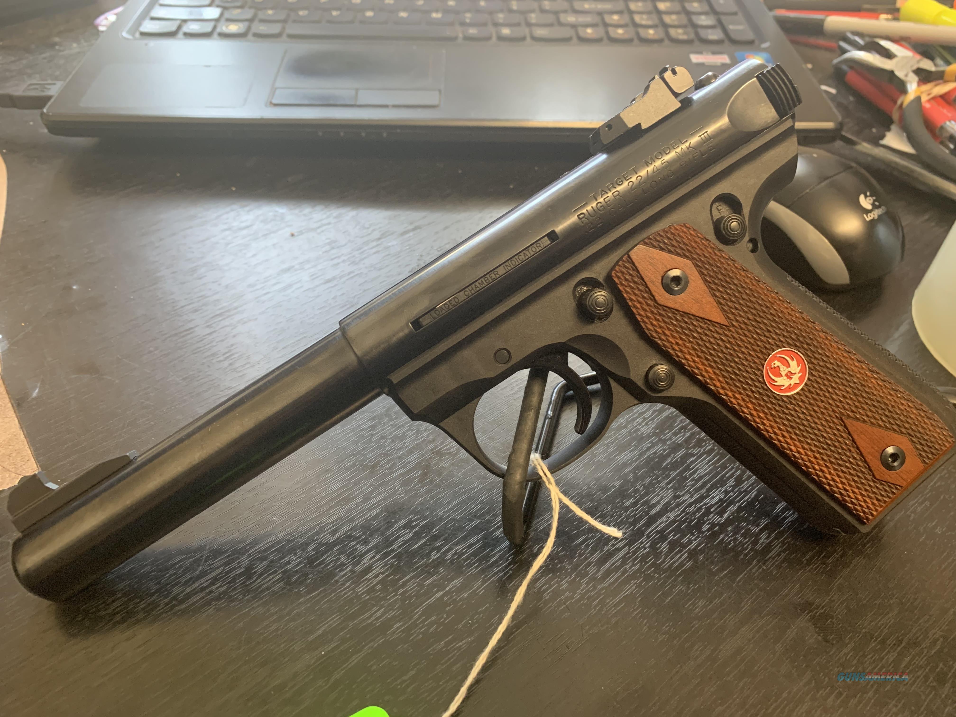 Ruger MK III 22/45 Target  Guns > Pistols > Ruger Semi-Auto Pistols > Mark I/II/III/IV Family