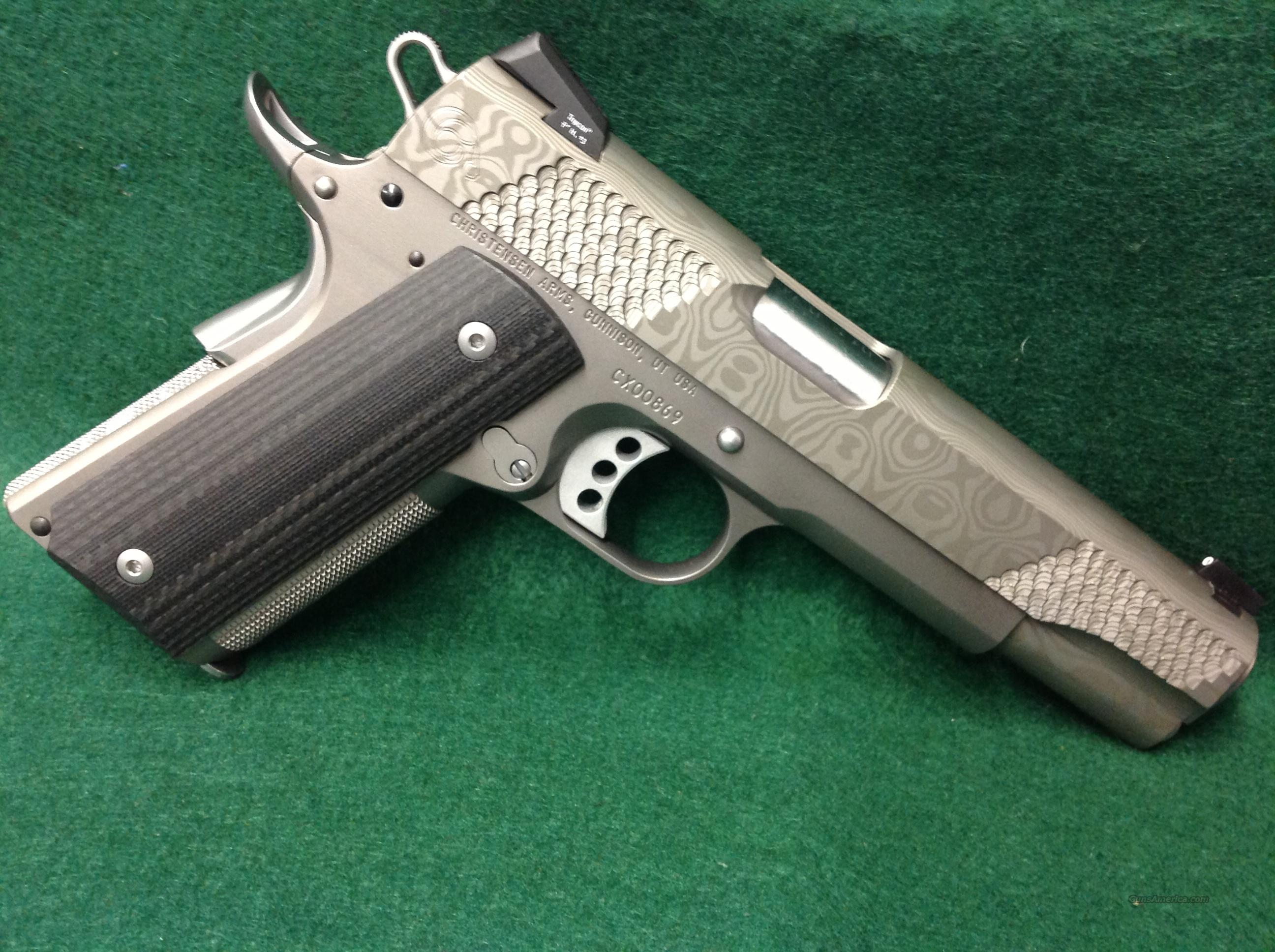 Christensen Arms Damascus  Guns > Pistols > C Misc Pistols