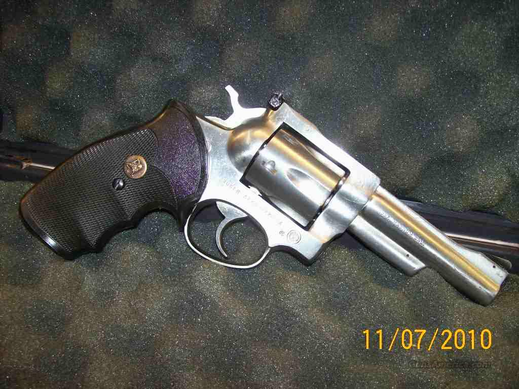 "65210  RUGER SECURITY-SIX Stainless 4""  .357  Guns > Pistols > Ruger Double Action Revolver > Security Six Type"