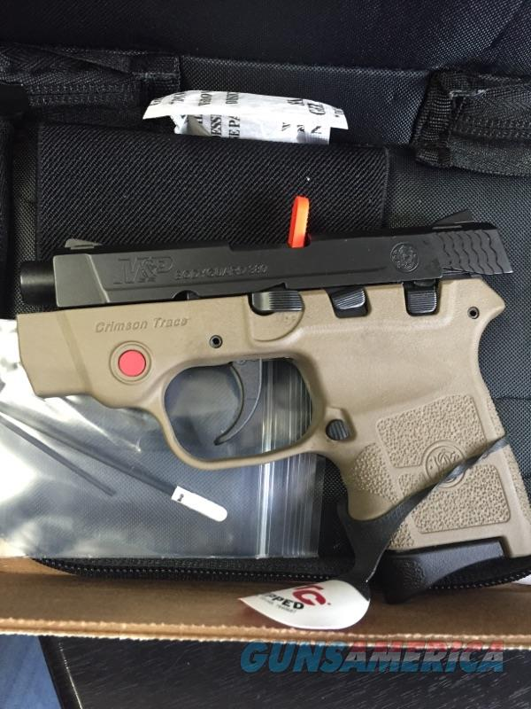 Smith & Wesson M&P Bodyguard Flat Dark Earth W/ Laser  Guns > Pistols > Smith & Wesson Pistols - Autos > Polymer Frame