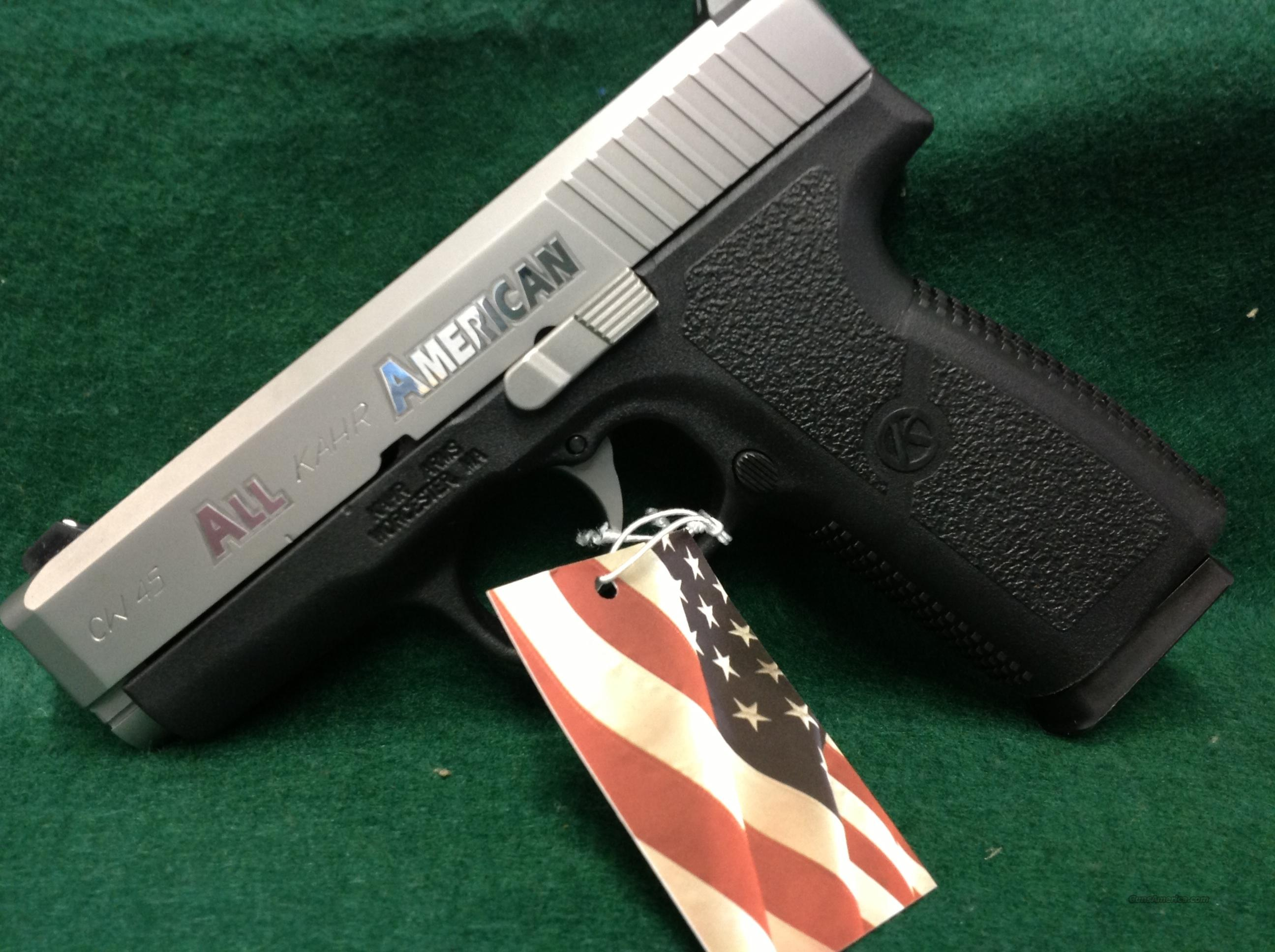 Kahr Arms CW45 All American   Guns > Pistols > Kahr Pistols