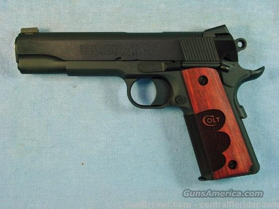 Colt Series 70 Government Wiley Clapp Model  Guns > Pistols > Colt Automatic Pistols (1911 & Var)