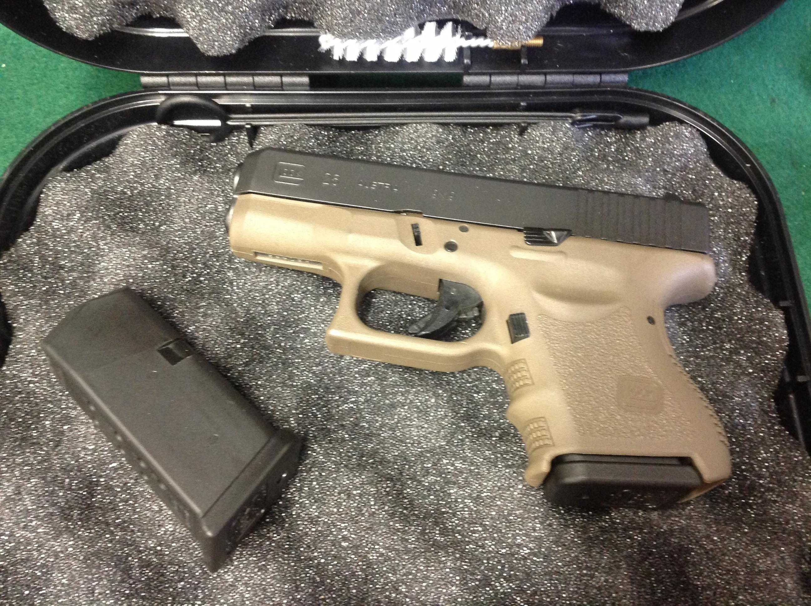 Glock 26 OD Green **As New In Box**  Guns > Pistols > Glock Pistols > 26/27