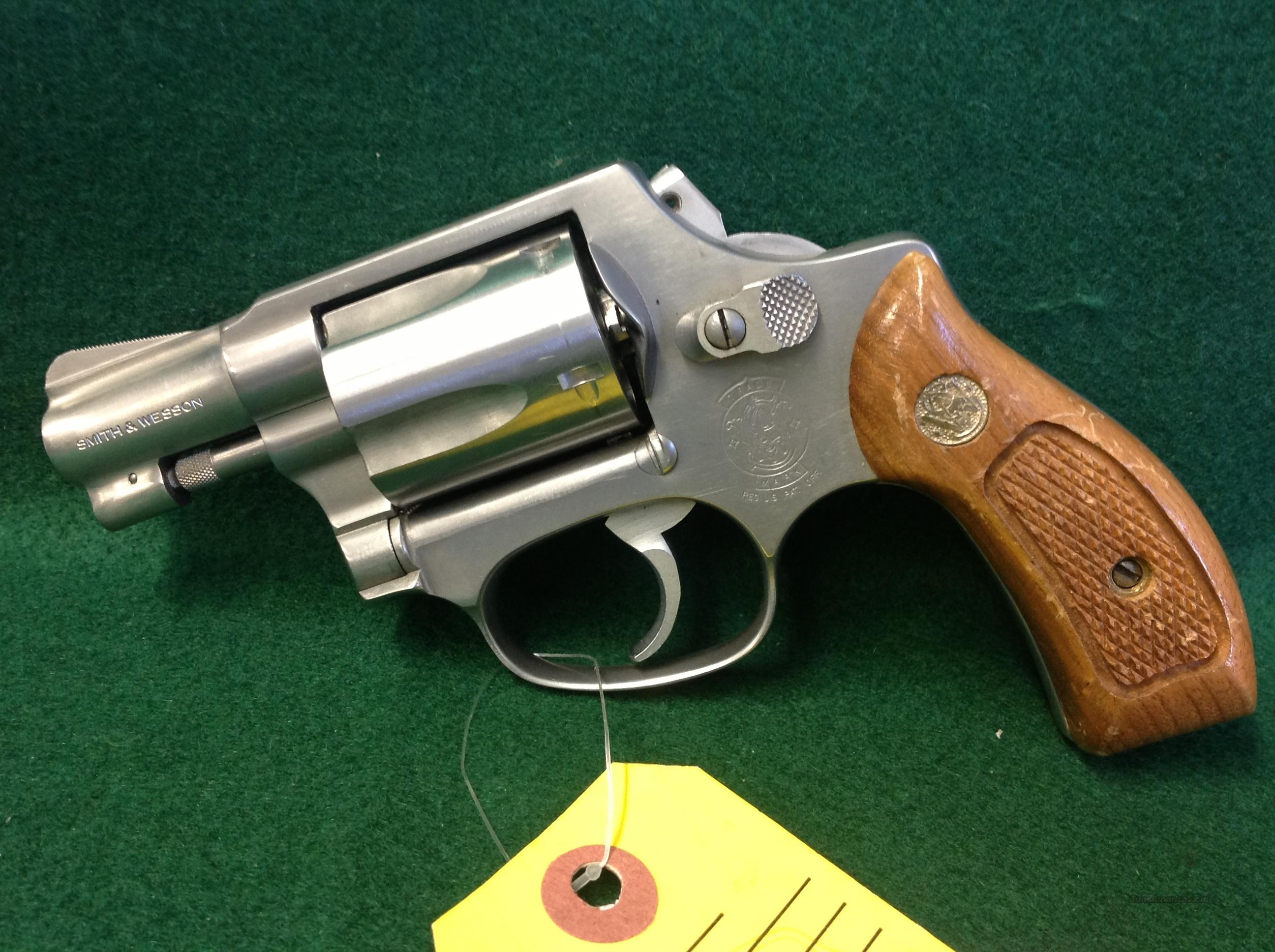 S&W Model 60 .38 Special Bobbed Hammer  Guns > Pistols > Smith & Wesson Revolvers > Full Frame Revolver